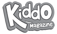 Kiddo Magazine Logo White Footer